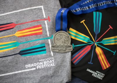 Minocqua Dragon Boat Festival - 2018 Shirts and Medal