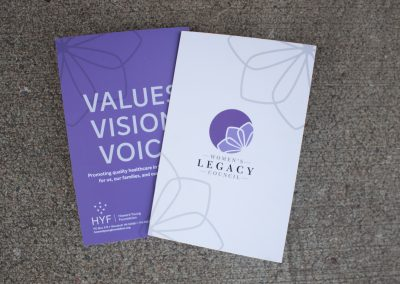 Women's Legacy Council - Brochure Front and Back