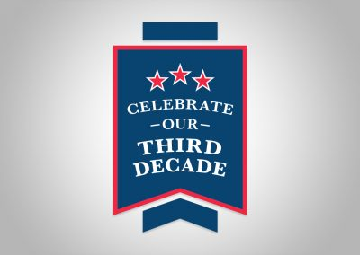 Duluth Edison Charter Schools - 3rd Decade Celebration Badge