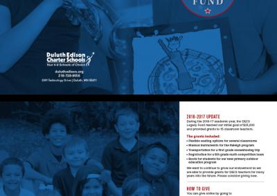 Duluth Edison Charter Schools - Legacy Fund Brochure