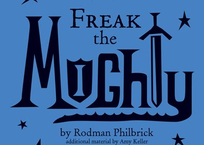 Duluth Edison Charter Schools - Freak the Mighty Playbill