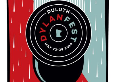 Duluth Does Dylan Music Festival  - Poster