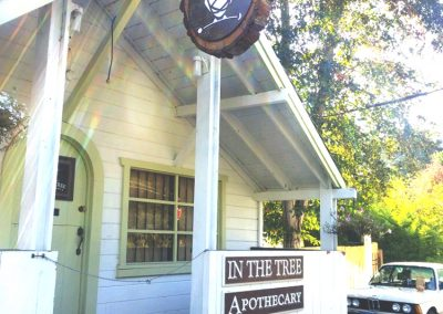 In The Tree Logo - Shop Exterior Sign
