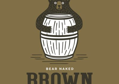 Minocqua Brewing Co. Bear Naked Brown