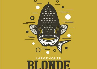 Minocqua Brewing Co. Largemouth Blonde