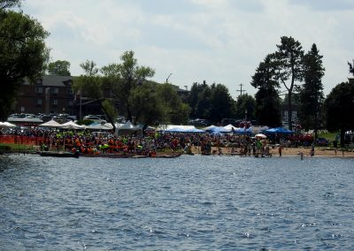 Minocqua Dragon Boat Festival Grounds - Photo credit Game Miller