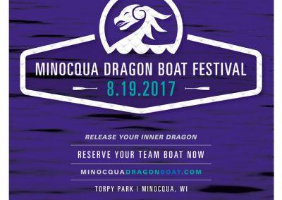 Minocqua Dragon Boat Festival Promo Poster