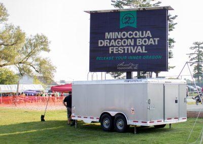 Minocqua Dragon Boat Festival Scoreboard