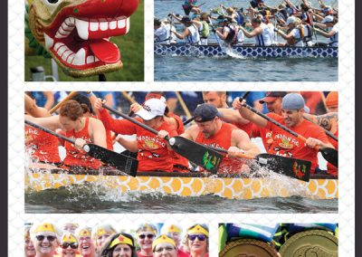 Minocqua Dragon Boat Festival Newspaper Ad