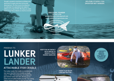 Paddle Fishing Systems - Brochure Flattened