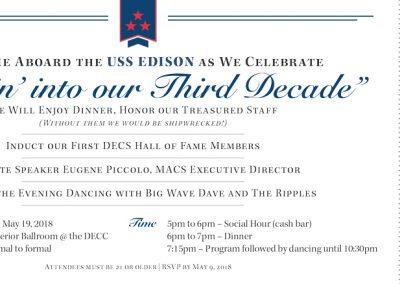 Duluth Edison Charter Schools - 3rd Decade Celebration Invite