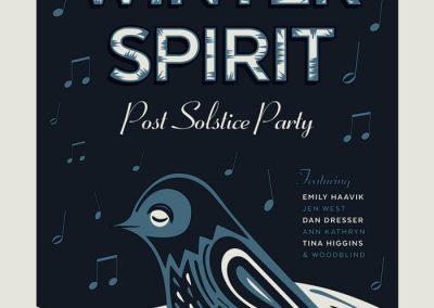 Gaelynn Lea - Winter Spirit Poster