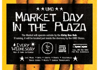 UMD Farmers Market Poster